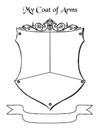 Printables Coat Of Arms Worksheet coat of arms paul ingram picture